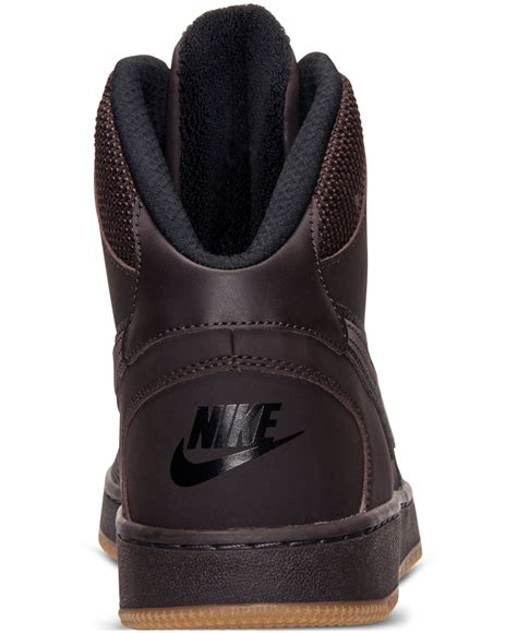 Casual Sneakers Synthetic Brown B203 nike s of mid winter casual sneakers from