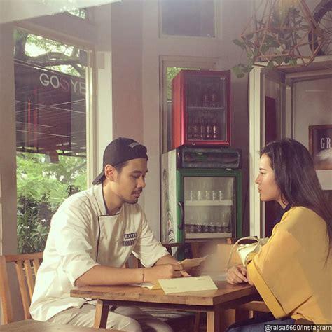 film filosofi kopi raisa raisa sulit lupakan mantan kekasih di debut filmnya