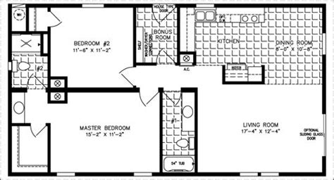 the imperial imp 46019b manufactured home floor plan the imperial imp 2443a manufactured home floor plan