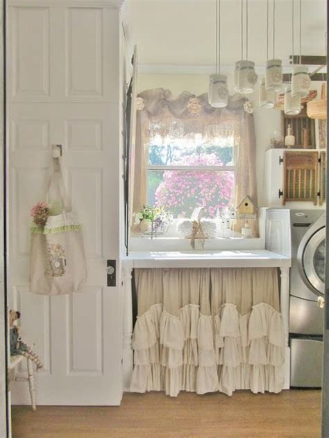 shabby chic laundry room my new folding table that the