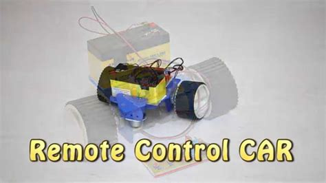 how to make a remote car