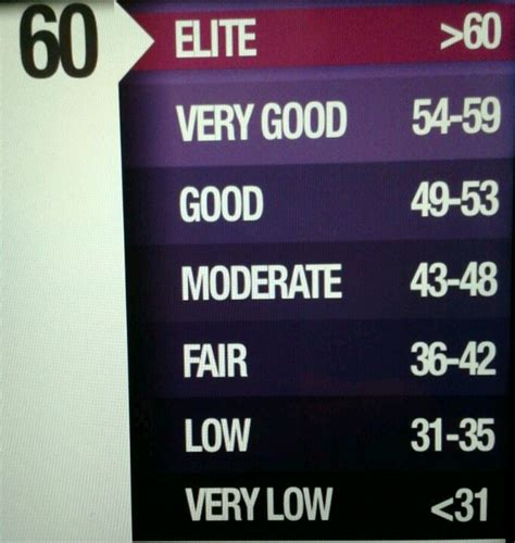 polar fitness test 17 best images about fit test on assessment