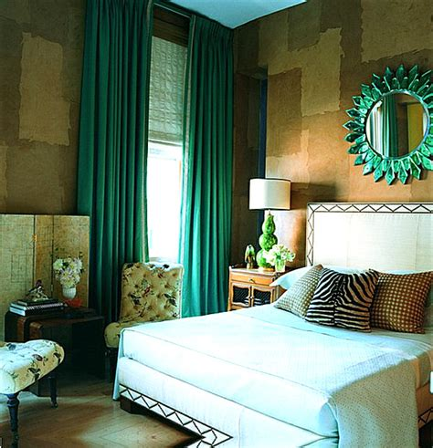 green bedroom curtains eye catching paint colors for the bedroom