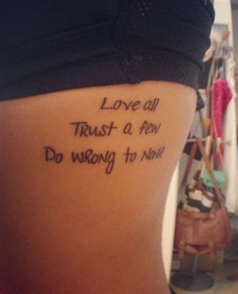small tr st tattoos with tr st tattoos trust quotes tattoos quotesgram