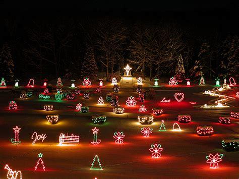 la lights the la salette shrine light display in enfield