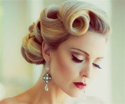 fifties updo 50s hairstyles 11 vintage hairstyles to look special