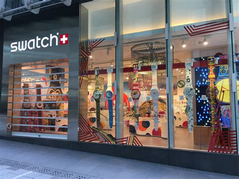swatch shop central causeway bay window display