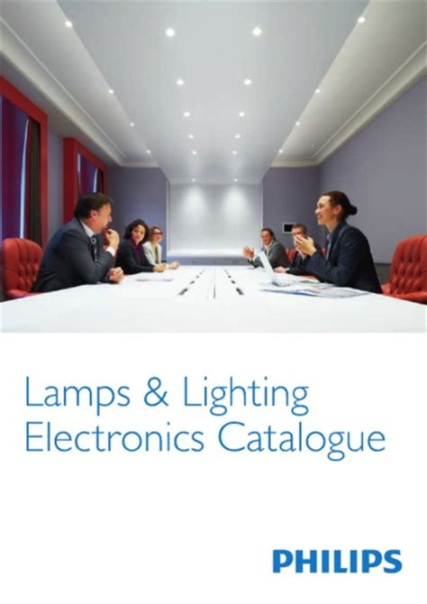 Philips Product Catalogue Ls And Lighting Lights Catalogue
