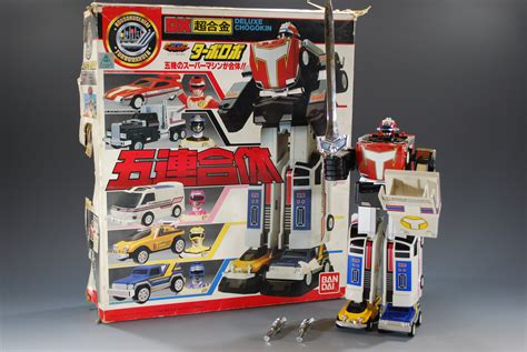 Megazord Turbo Daizyujin Turbo Base Power Ranger power rangers turbo ranger dx chogokin turbo robo megazord bandai japan popy