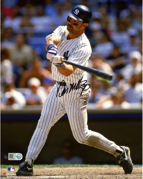 don mattingly new york yankees autographed 8 quot x 10