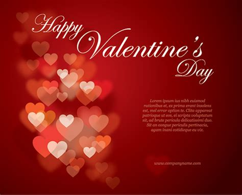 valentines greeting 30 s day design freebies