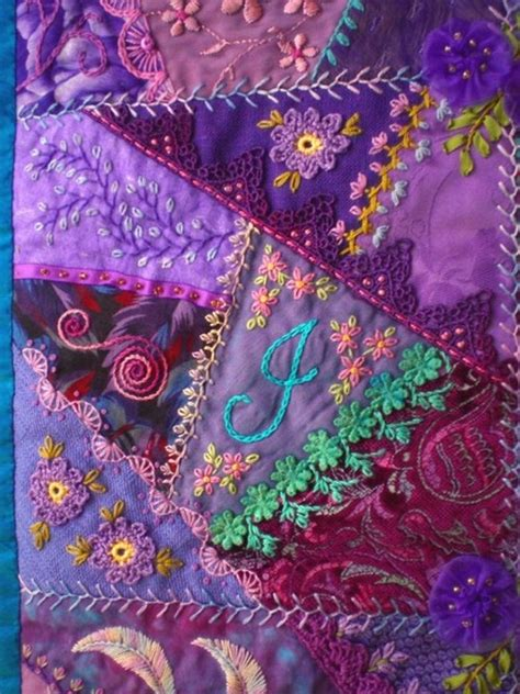 Patchwork Embroidery - 25 best ideas about quilting on