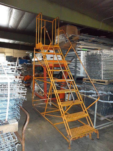 steel stair cases and ladder all american rack company