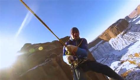 crazy rope swing wordlesstech world s most insane rope swing ever