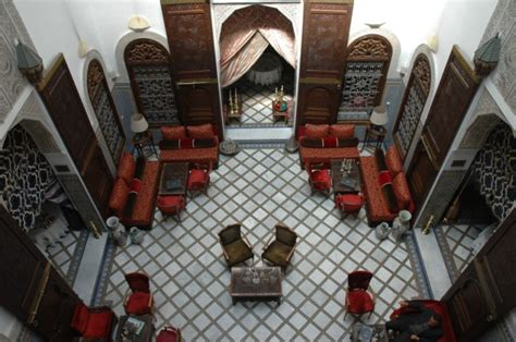 maison marocaine avec patio la maison bleu riad de luxe 224 marrakech maroc r 233 servez
