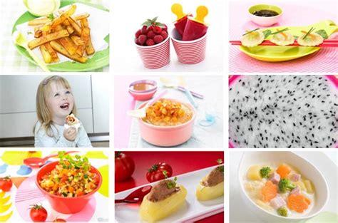 cuisine 18 mois quelles recettes de petits pots pour b 233 b 233 de de 18 mois