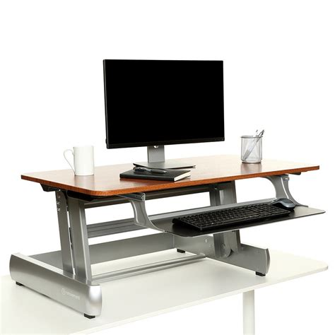 standing desk converter reviews inmovement elevate desktop dt2 standing desk review