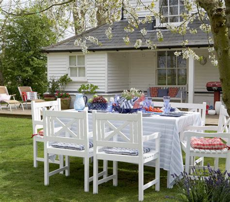 country living outdoor furniture country living 22 outdoor decor ideas real simple