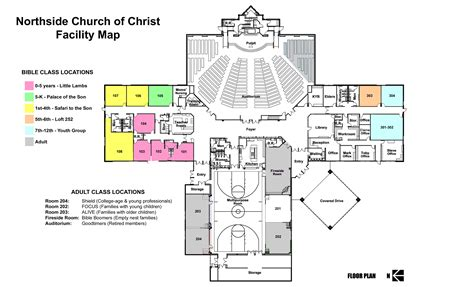 layout of the building find us