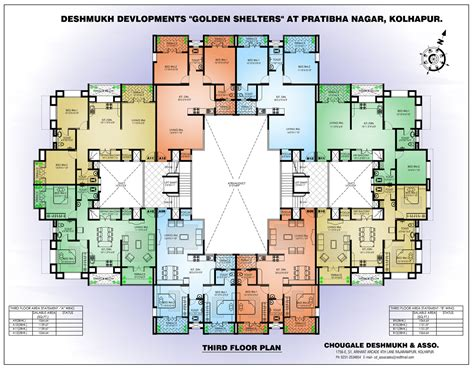 Apartment Design Plans | 4 bedroom apartment floor plans apartment building floor