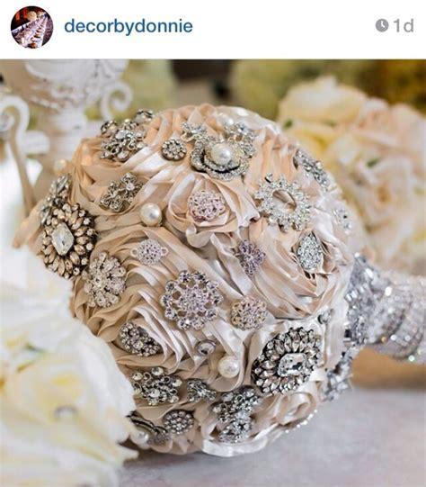 wedding bouquet jewellery jewelry bouquet by decorbydonnie wedding ideas