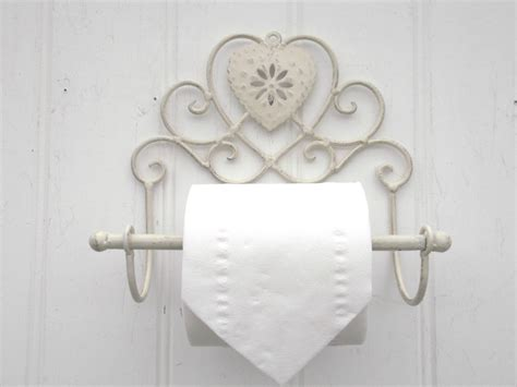 shabby chic heart french vintage cream wall mounted toilet