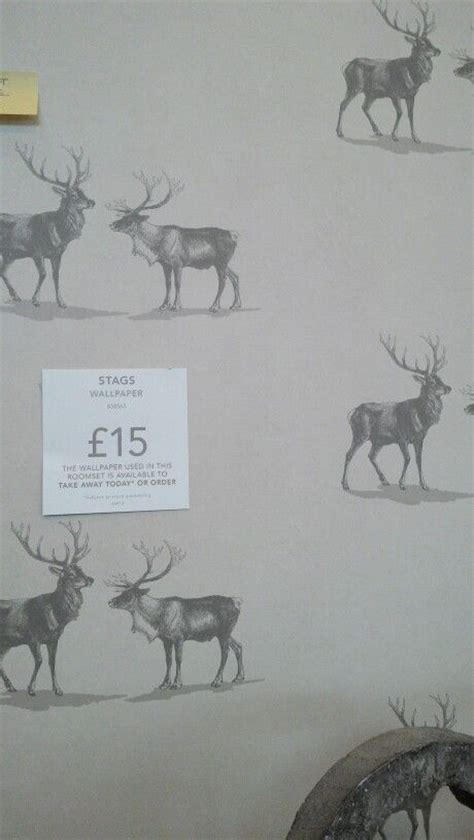 stag wallpaper grey absolutely love this stag wallpaper from next home