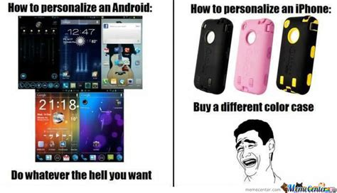 Android Versus Iphone Meme by Android Vs Iphone By Themester Meme Center