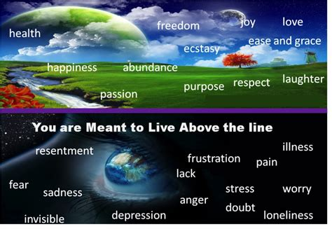 the line higher idea 4 living above the line my freedom begins here