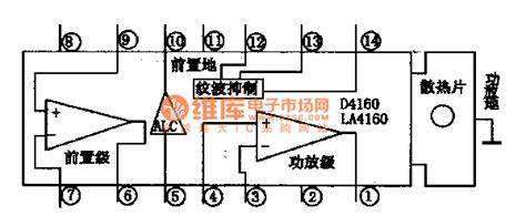 integrated circuit records la4160 single chip record playback integrated circuit lifier circuits audio lifier