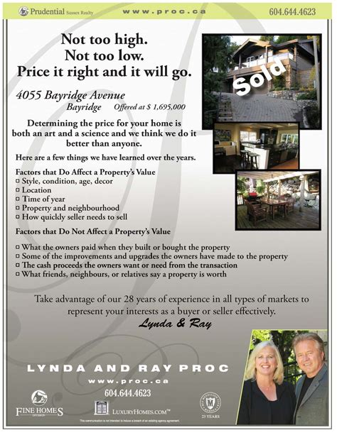 realtor marketing do just sold flyers work good ideas