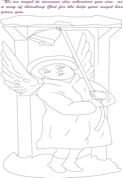 angel coloring pages pdf angel printable coloring page for kids 8
