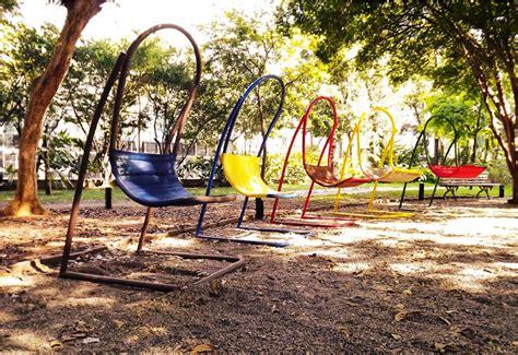 brazilian swing chair brazilian creatives design swing chairs for new exhibition