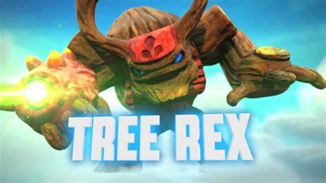 Skylanders Giants Tree Rex meet the skylanders tree rex quot be afraid of the bark quot official trailer