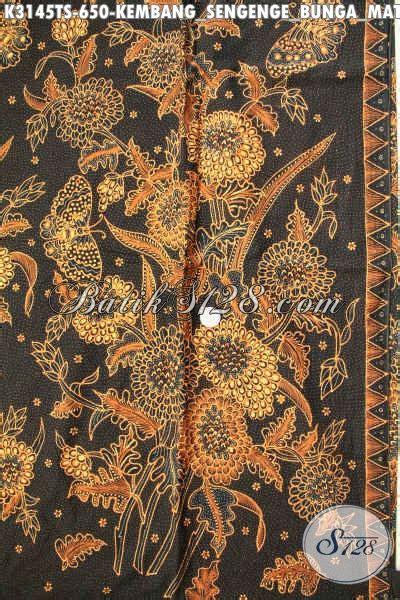 Kemeja Wanita Motif Bunga 287 kain batik mewah untuk kemeja pria batik halus bahan blus