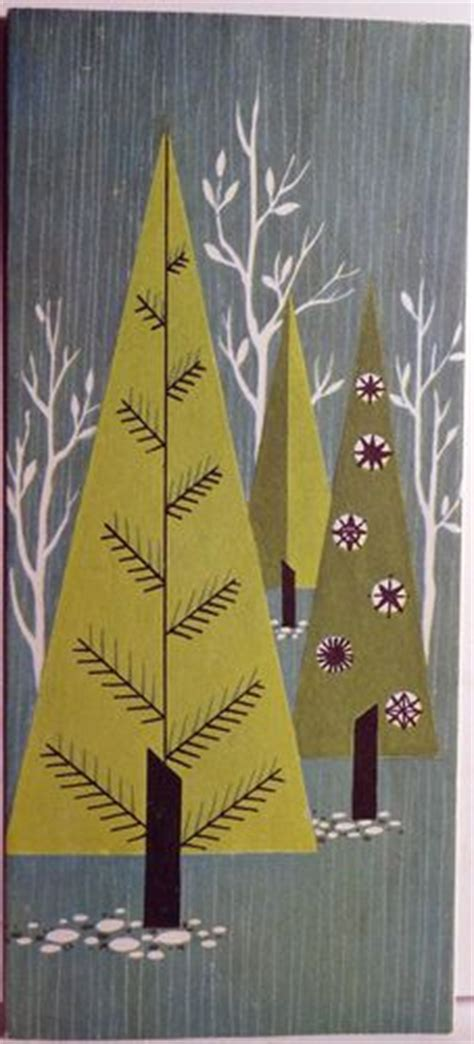 mid century modern christmas trees on pinterest mid