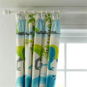 Dinosaur Curtains Cashback Dinosaur Curtain 16 X 137cm By B And Q