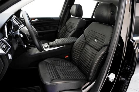 mercedes benz jeep custom brabus custom interiors for the mercedes benz ml class suv 3