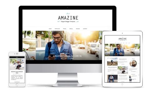 x theme blog template amazine blogger template installation guide bthemez blog