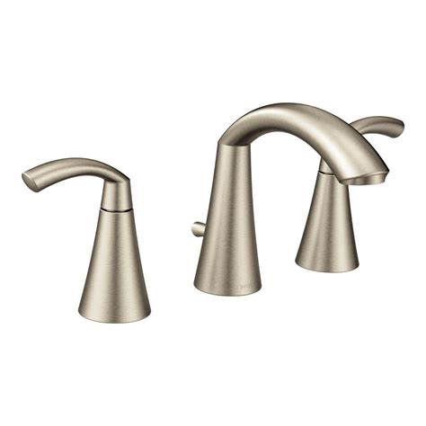 moen high arc bathroom faucet moen glyde 8 in widespread 2 handle high arc bathroom