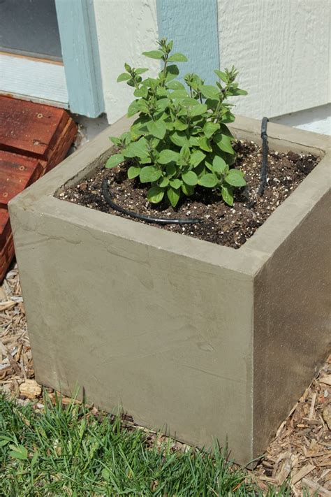 concrete diy diy concrete planters large diy projects