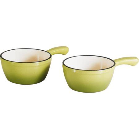 homes  gardens  piece cast iron french onion soup bowl walmartcom