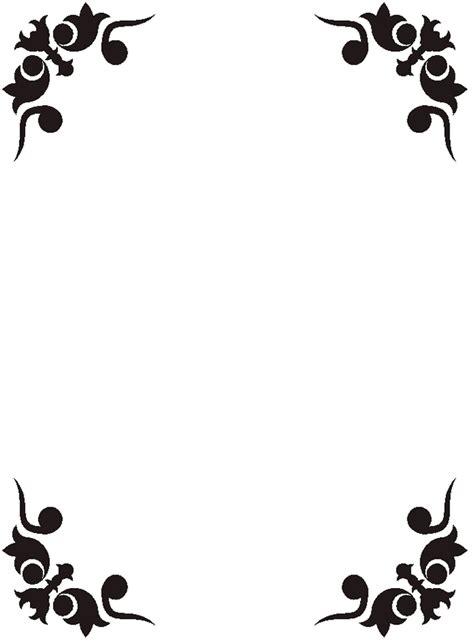 design art border simple corner border designs clipart best