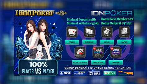 agen poker idnplay termurah deposit  ovo rb indopoker