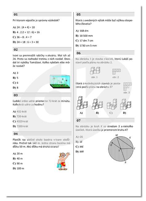 Mat Practice Questions by Test Mat 005 5 Roä N 237 K â Datakabinet Sk
