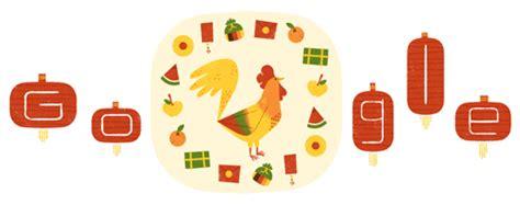 tema doodle hari ini tahun baru imlek 2017 di doodle hari ini siapa