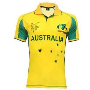icc cricket world cup 2015 australia team jersey