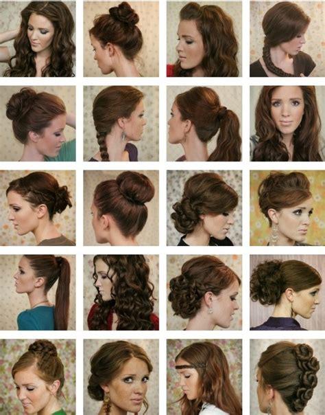 how to do different hairstyles for school 20 ть идей причесок на средние и длинные волосы фото пинми