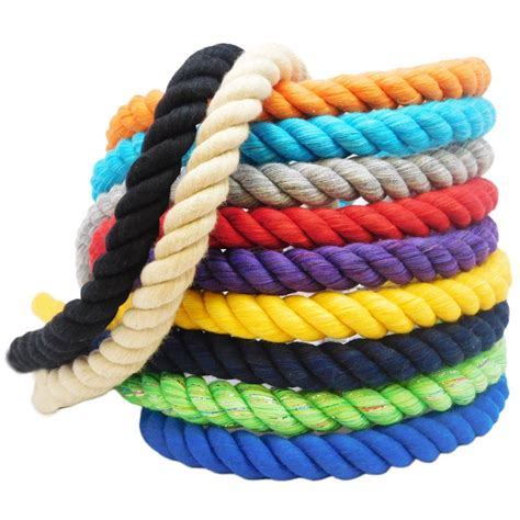 colored cotton rope soft durable cotton rope ravenox