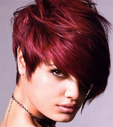 2 Color Hairstyles by Hairdo Shades Of Burgundy And Hair Trends For